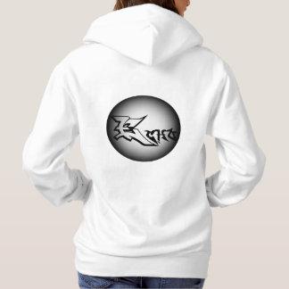 Sudadera con capucha del diseño de la luna del eco