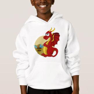 Sudadera con capucha del dragón del dibujo animado