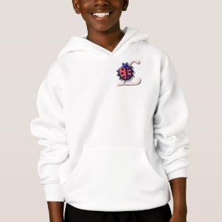 Sudadera con capucha del logotipo de la mariquita