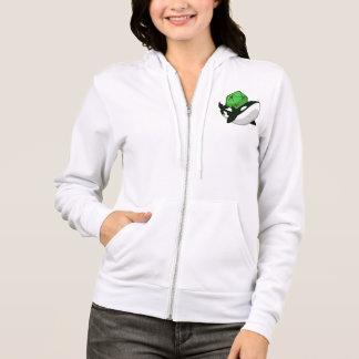 Sudadera con capucha del logotipo de OrcaCon