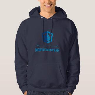 Sudadera con capucha del noroeste del jersey del