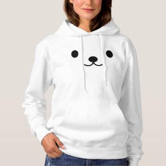 Sudadera con capucha del oso polar de Kawaii de
