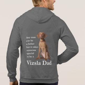 Sudadera con capucha del papá de Vizsla