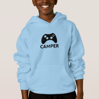 Sudadera con capucha del videojugador del niño (en