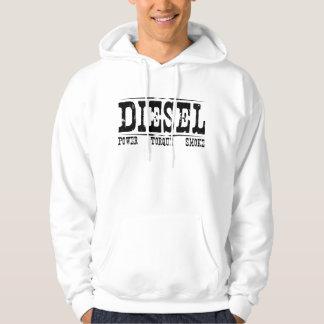Sudadera con capucha diesel del Grunge