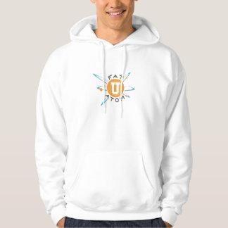 Sudadera con capucha gorda del átomo
