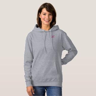 Sudadera con capucha gris LC