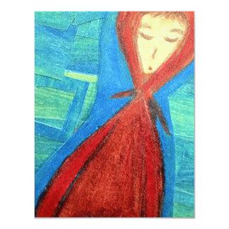 Sudadera con capucha invitación 10,8 x 13,9 cm