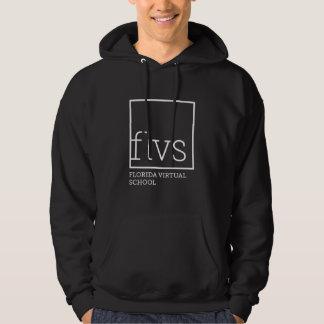 Sudadera con capucha negra adulta de FLVS