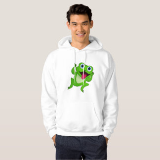 Sudadera con capucha para hombre de la rana
