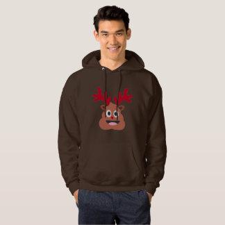 sudadera con capucha para hombre del emoji del poo