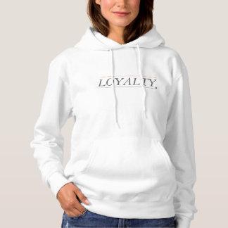 Sudadera con capucha para mujer de la lealtad