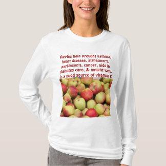 sudadera con capucha para mujer de las manzanas