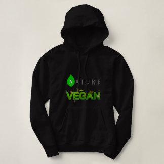 Sudadera con capucha para mujer del vegano de la