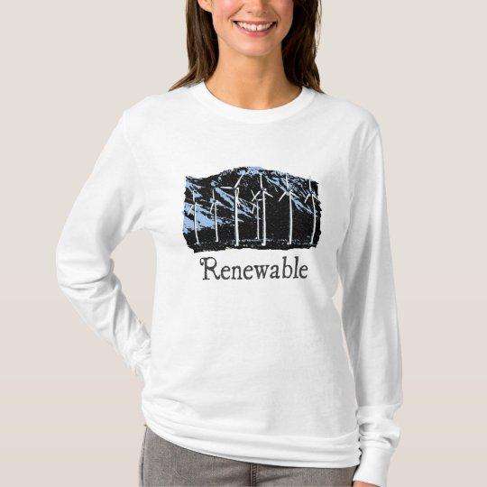 Sudadera con capucha para mujer renovable de la