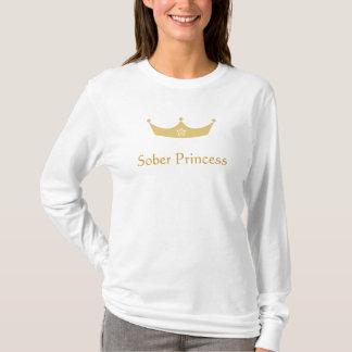 Sudadera con capucha sobria de la princesa