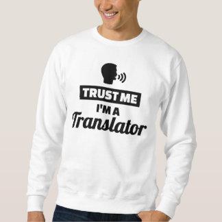 Sudadera Confíe en que yo es un traductor