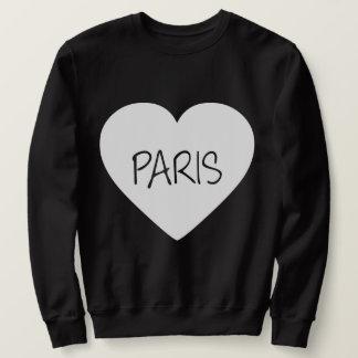 Sudadera Corazón de París del amor