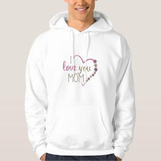 Sudadera Corazón del día de madres de la mamá del amor