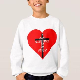 Sudadera Corazón rojo y cruz de IOATNO