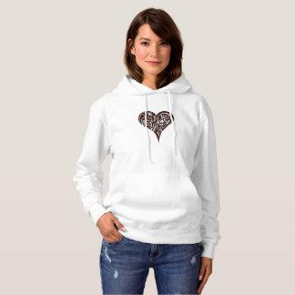 Sudadera Corazón tribal