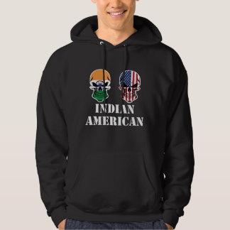 Sudadera Cráneos indios de la bandera americana