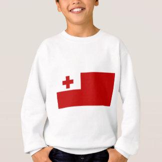 Sudadera Cruz Roja de la bandera de la isla de Tonga