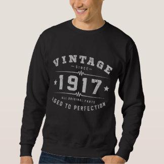 Sudadera Cumpleaños del vintage 1917