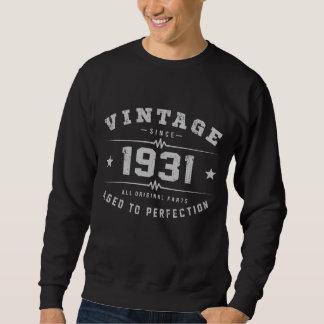 Sudadera Cumpleaños del vintage 1931