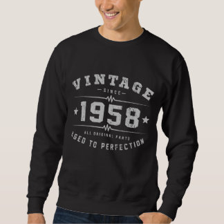 Sudadera Cumpleaños del vintage 1958