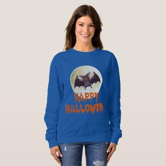 Sudadera de Halloween de la luna del palo