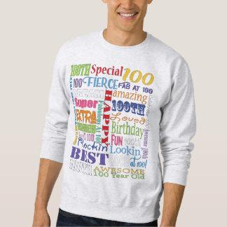 Sudadera De la fiesta regalos únicos y 100os de cumpleaños