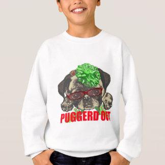 Sudadera De Puggerd perrito del barro amasado hacia fuera