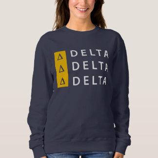 Sudadera Delta el | del delta del delta apilado