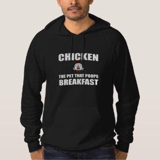 Sudadera Desayuno del impulso de los pollos