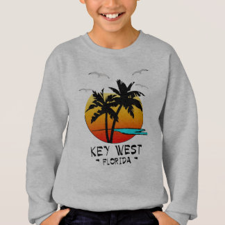 SUDADERA DESTINO TROPICAL DE KEY WEST LA FLORIDA