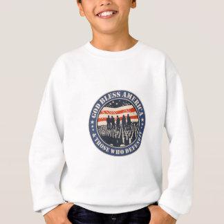 Sudadera Dios bendice América