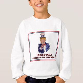 Sudadera ¡Donald Trump/líder del tío Sam del mundo libre!