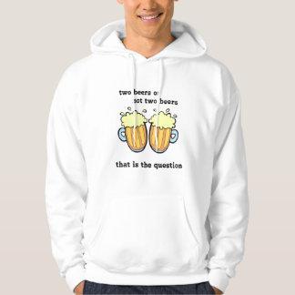 Sudadera Dos cervezas o no dos cervezas