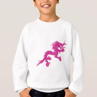Sudadera dragón rosado