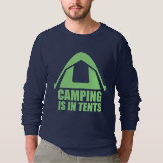 Sudadera El acampar está en tiendas