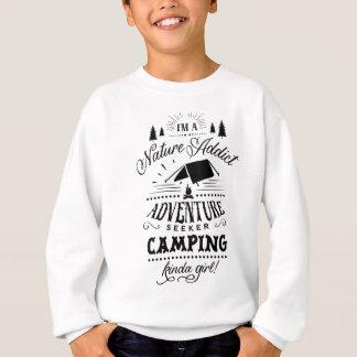 Sudadera El acampar un poco chica