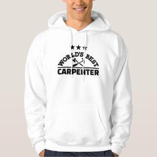 Sudadera El mejor carpintero del mundo
