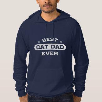 Sudadera El mejor papá del gato nunca