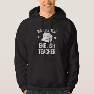Sudadera El mejor profesor de inglés de los mundos