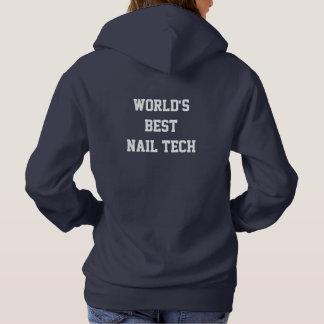Sudadera El mejor técnico del clavo del mundo