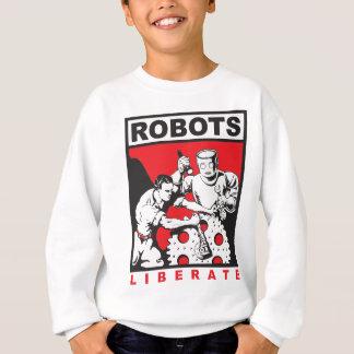 Sudadera El robot le fija libre
