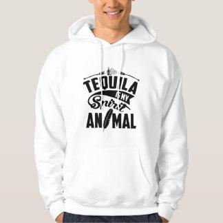 Sudadera El Tequila es mi animal del alcohol