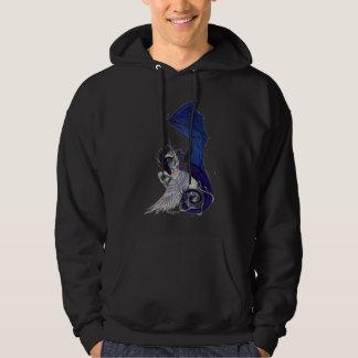 Sudadera El unicornio y el dragón eternos del abrazo