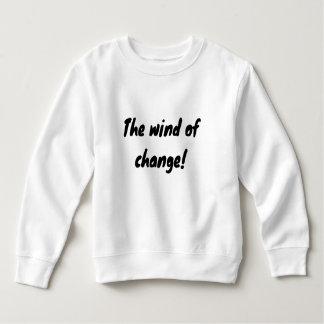 Sudadera ¡el viento del cambio!
